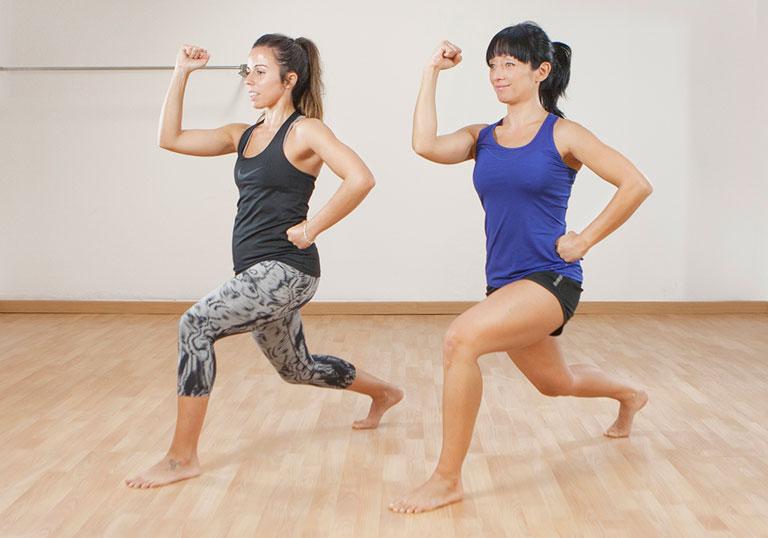 Fitdona section - Entrenament en Femení amb Silvia Wang