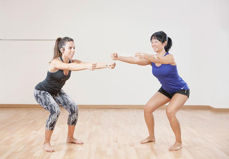 Fitdona inside - Entrenament en Femení amb Silvia Wang